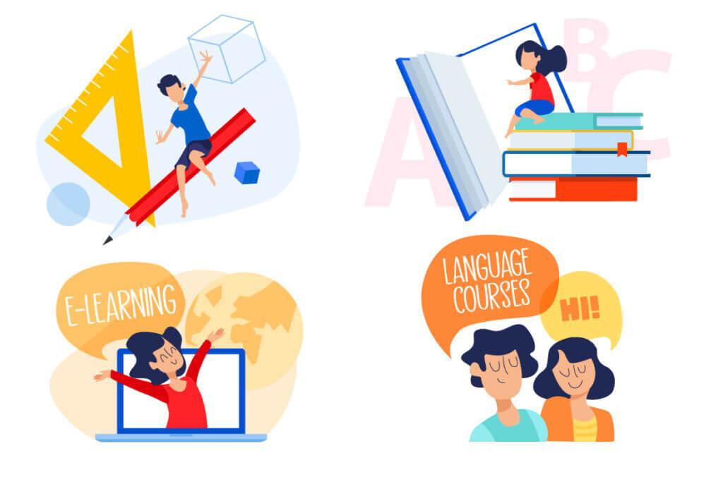 Nyelv tanulás lehetséges lépései új álláshoz